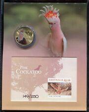 Australien Australia 2012 Kakadu Cockatoo Vogel Block 153 Folder Auflage 250 RAR