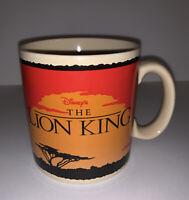 Disney The Lion King Logo Coffee Mug Tea Cup Jumbo Animated Movie Vintage Korea