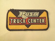 Vintage Rush Truck Center Iron On Patch- Truck Dealer in Fredericksburg Virginia