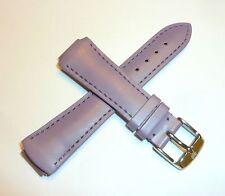 TechnoMarine Genuine Leather Watch Strap Band 15MM MoonSun Lilac - 2513M NEW!