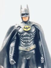 "BATMAN 1989 12"" 1/6 Scale Michael Keaton Action Figure Custom Cape LIMITED 30/89"
