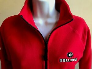 Georgia Bulldogs 2020 SugarBowl Women's Red Fleece Jacket by Clique New w tags
