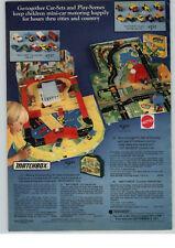 1977 PAPER AD 2 PG Matchbox Car City Sea Battle Kings Boats Corgi