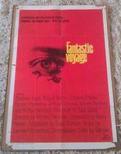 FANTASTIC VOYAGE MOVIE POSTER 1 Sheet ORIGINAL FOLDED 27x41 RAQUEL WELCH