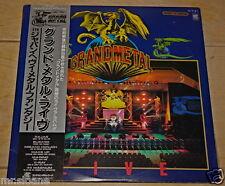 GRAND METAL 5TH JAPAN HEAVY METAL LIVE 2x LP RAJAS BLIZARD MARINO X-RAY MAGNUM