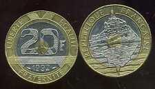 20 FRANCS  1992 MONT ST MICHEL 5 serie stries V ouvert