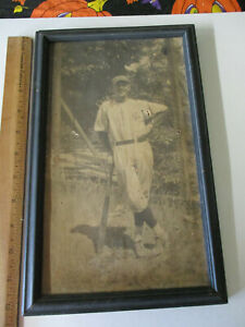 Vintage Modesto Reds Baseball Player Photo California State League 1920s