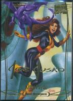 2016 Marvel Masterpieces Gold Signature Trading Card #39 Kitty Pryde /1499