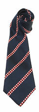 KOSB KINGS OWN SCOTTISH BORDERERS WOVEN STRIPE UK MADE MILITARY TIE