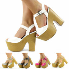 Wedge Party Textile Heels for Women