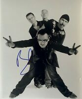U2 Bono Hand Signed / Autographed 8  x 10  PHOTO / T M COA