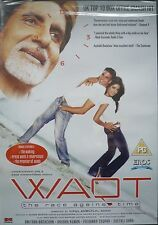 WAQT - THE RACE AGAINST TIME - BOLLYWOOD DVD - Eros Bollywood indian movie dvd.
