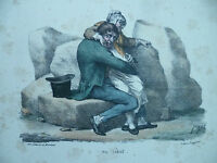 Litho XIX Langlume Bei Martinet - On Vient. Pigal Edme-Jean Circa 1833