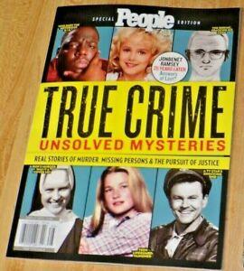 People Magazine 2021 Spec Iss TRUE CRIME UNSOLVED MYSTERIES Zodiak JobenetRamsey