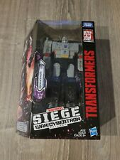 Transformers Siege Generations War for Cybertron Voyager WFC-S12 Megatron