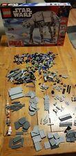 Lego Star Wars 10178-AT-AT, incomplète. Comprend Minifigures et boîte.