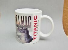 Titanic The Exhibit Mug Ceramic April 14 1912 Captain Smith Quote Ocean Liner