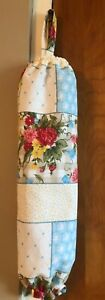 Pioneer Woman Sweet Roses Handmade Plastic Bag Holder Made New Free Shipping