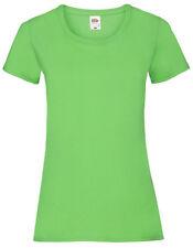 Fruit of the Loom Damen T-Shirt VALUEWEIGHT T LADY-FIT Kurzarm Neu F288N