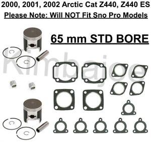 Details about  /Top End Gasket Set For 2001 Arctic Cat Z 440 ES Snowmobile Winderosa 710224