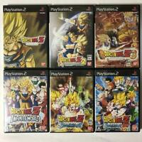 Dragon Ball Z Lot Full Set 6 Games  PS2 Playstation 2 Japan Import F/S