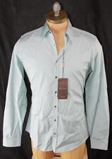 AUTH Gucci Men Slim Fit Long Sleeve Shirt 15 38