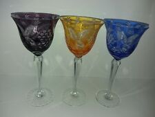 Nachtmann  Cut Crystal Clear Water Goblet color
