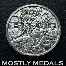 Franklin Mint Sterling Silver Mini-Ingot: 1937 Flint, Michigan UAW-GM Strike