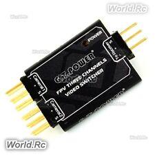 GT Power FPV 3 Channel Video Switcher DV AV to OSD or video transmitter - GT014