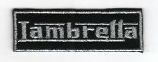 Iron On/ Sew On Embroidered Patch Badge Italian Scooter Lam Rectangle