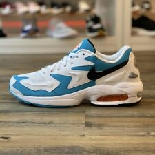 Nike Air Max 2 Light Gr.42,5 Sneaker Schuhe weiß AO1741 100 Running Retro