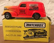 1995 Matchbox Hershey Park Convention 39 Chevy Van Delivery Truck - NIB MINT!