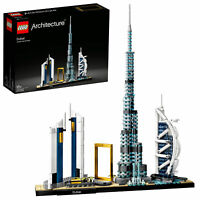 21052 LEGO Architecture Dubai Building Collector Set 740 Pieces Age 16+