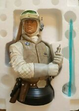 Star Wars Gentle Giant Luke Skywalker (Hoth) mini Bust Statue Rare Mint