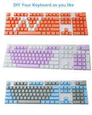 104 Keycaps Colorful ABS Backlit Gaming Replacement Mechanical Keyboards