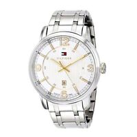 NIB Tommy Hilfiger Men's 1710344 Two-Tone Stainless Steel Watch MSRP $ 135