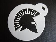 Corte láser diseño pequeño casco romano Torta, Cookie, Craft & Plantilla de Pintura de cara