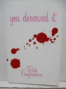 You Deserved It SC / Bob Fingerman -2005 Dark Horse