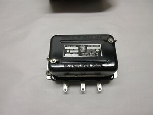 1960 1961 1962 1963 1964 FORD GALAXIE AND MERCURY VOLTAGE REGULATOR NOS !!