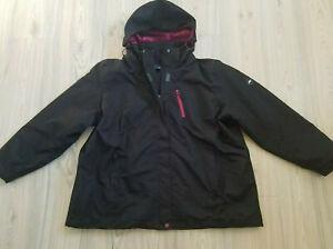 """""""Polarino"""" hochwertige 3-in-1 Outdoor Jacke - Funktionsjacke in der Gräße 52"""