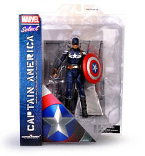 NEW MARVEL SELECT CAPTAIN AMERICA THE WINTER SOLDIER ACTION FIGURES DIAMOND TOYS