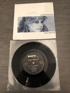 "Kirsty MacColl A New England 7"" Vinyl Record BUY216 Billy Bragg"