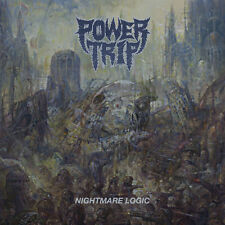POWER TRIP - Nightmare Logic LP - Black Vinyl - Thrash Metal Hardcore Punk - NEW