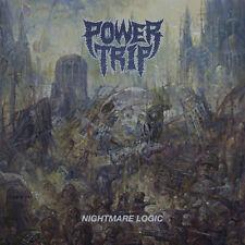 POWER TRIP - Nightmare Logic LP - Black Vinyl - Thrash Metal Hardcore Punk - NEW