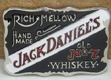 Retro Black Jack Daniels Belt Buckle