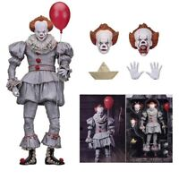 NECA FIGURINE PENNYWISE CLOWN FILM IT  PVC collection 18 cm