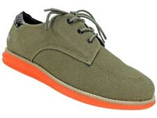Gram SCANDINAVIA Men's 380g Fashion Sneakers Coated Canvas Shoes $140 Army Green