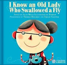 I Know an Old Lady Who Swallowed a Fly-ExLibrary