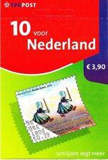 Postzegelboekje 10 voor Nederland - NVPH PB 82b - SCHAARS