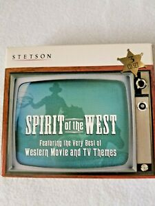 Stetson Spirit Of The West Western Movie and TV Themes 3 CD Set 30-Songs